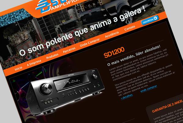 Desenvolvimento de Site para empresa Sender Brasil