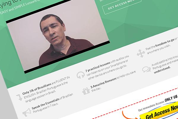 Desenvolvimento Infoproduto: Learn Portuguese World Cup